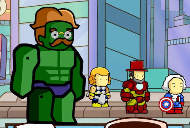 Simply The Best Scribblenauts Art We've Ever Seen. And Lots Of It.