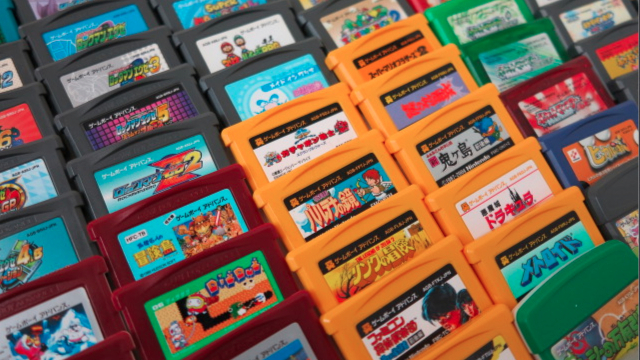 Here Are All the Japanese Game Boy Advance Games. At Once.