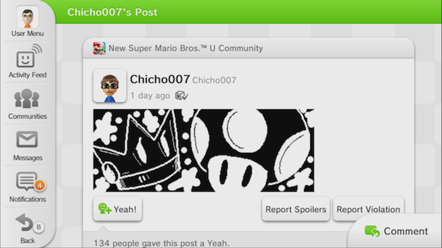 Nintendo's Miiverse Isn't Xbox Live. It Might Be Something Better.