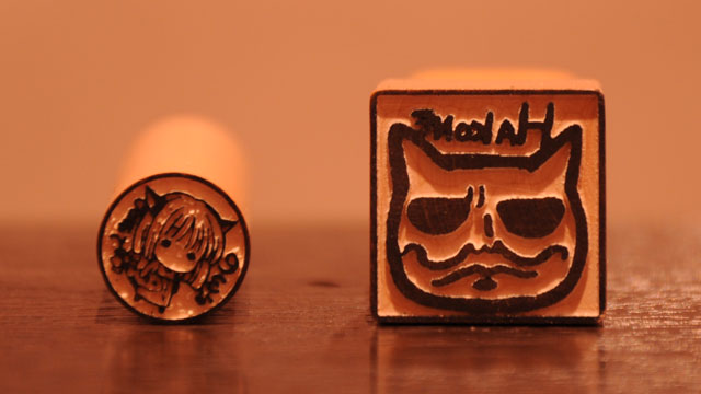 Japan's Traditional Seals Get Very, Very Nerdy