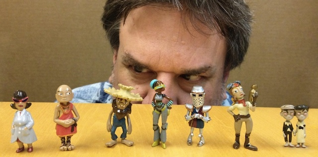 The Characters From The Cave, Now Available In Charming Toy Form