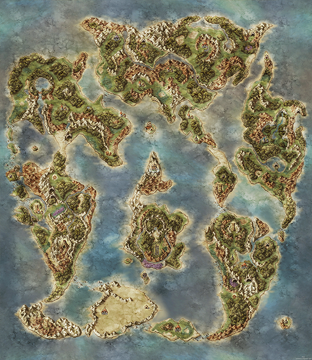 Beautiful Video Game World Maps Kotaku Australia