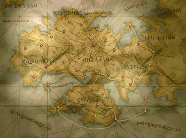 Fftactics1g beautiful video game world maps gumiabroncs Image collections