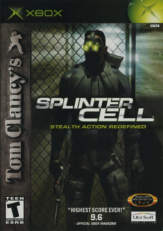 Splinter Cell Has Changed. Just Look At The Box Art.