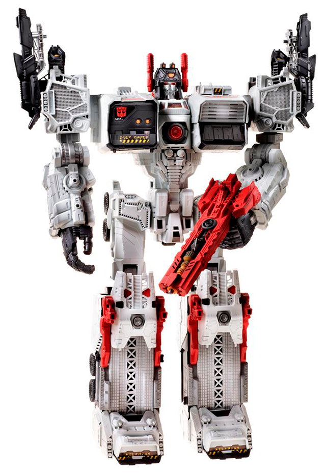 Two Foot Tall Metroplex Makes My Transformers Dreams Come True This Fall