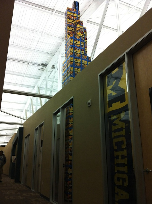 Kneel Before This Massive Tower Of Borderlands 2 Boxes