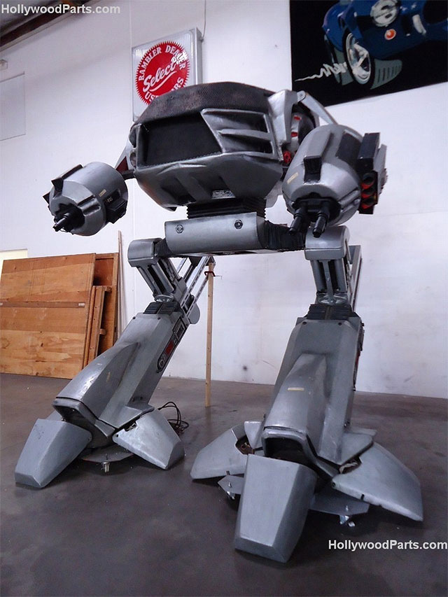 For $25,000, You Can have Your Own Giant RoboCop Killing Machine